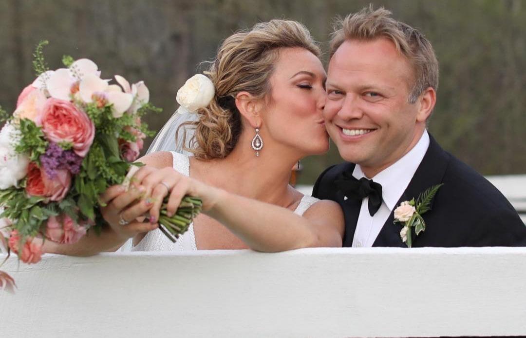 Brooke Baldwin and James Fletcher's wedding