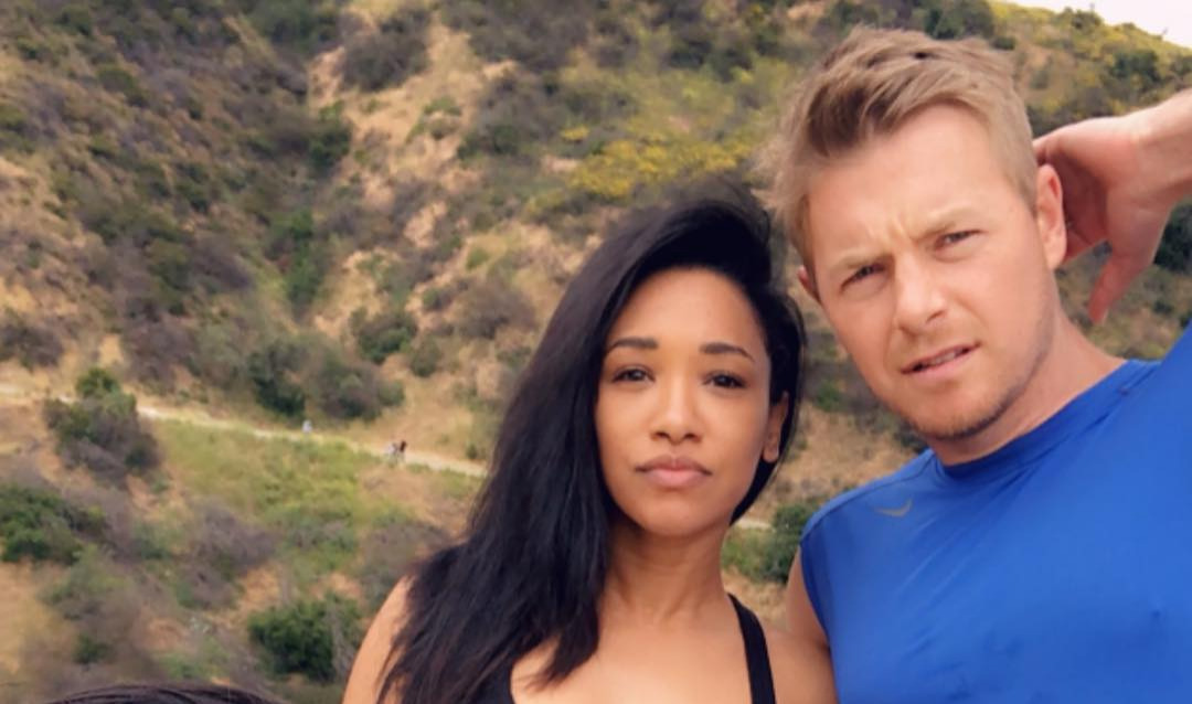 Candice Patton and Rick Cosnett