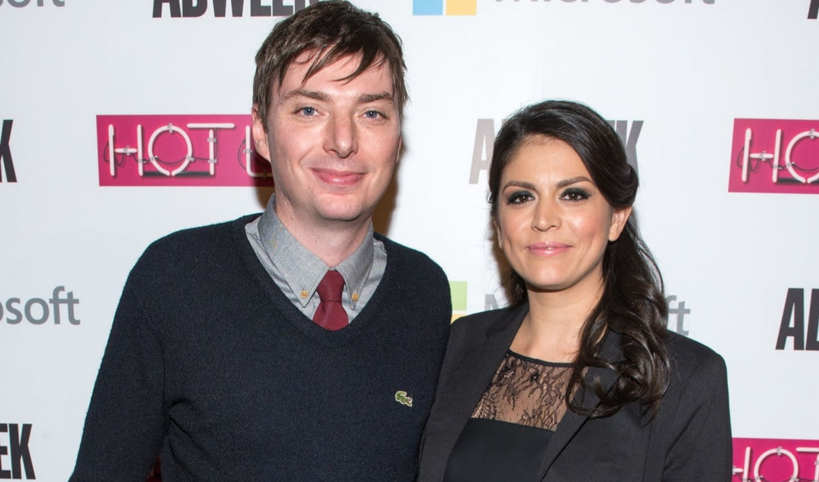 Cecily Strong and Mike O'Brien