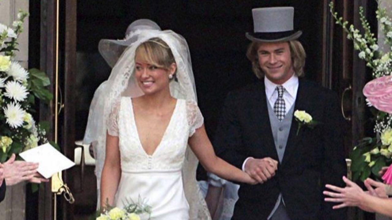 Elsa Pataky and chris' wedding