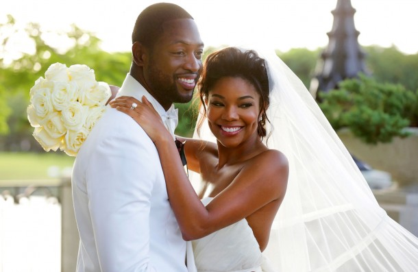 Gabrielle Union and Dwyane's wedding