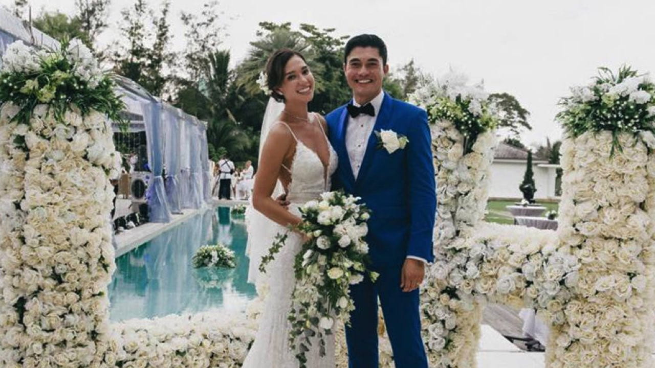 Liv Lo and Henry Golding wedding