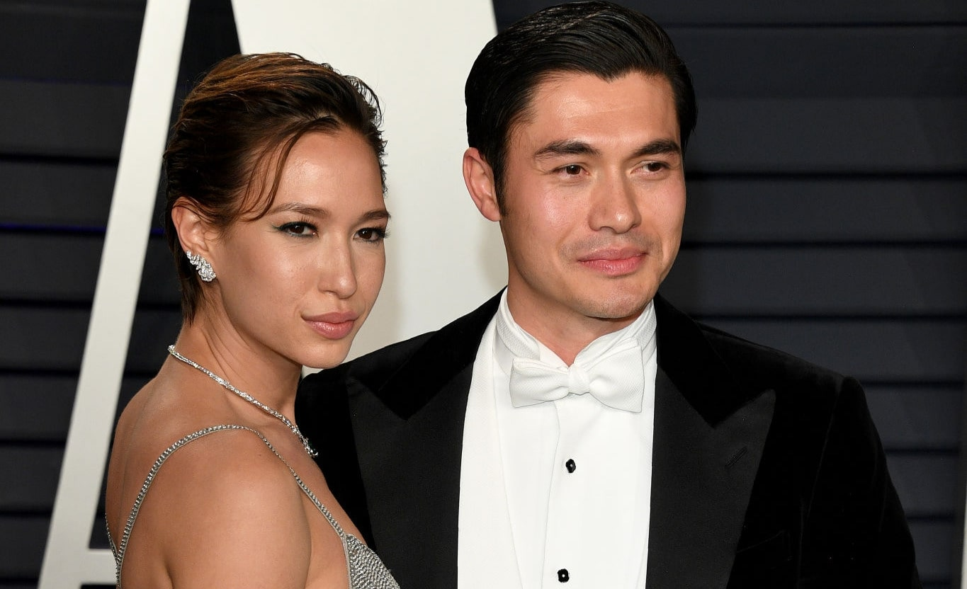 Liv Lo and Henry Golding