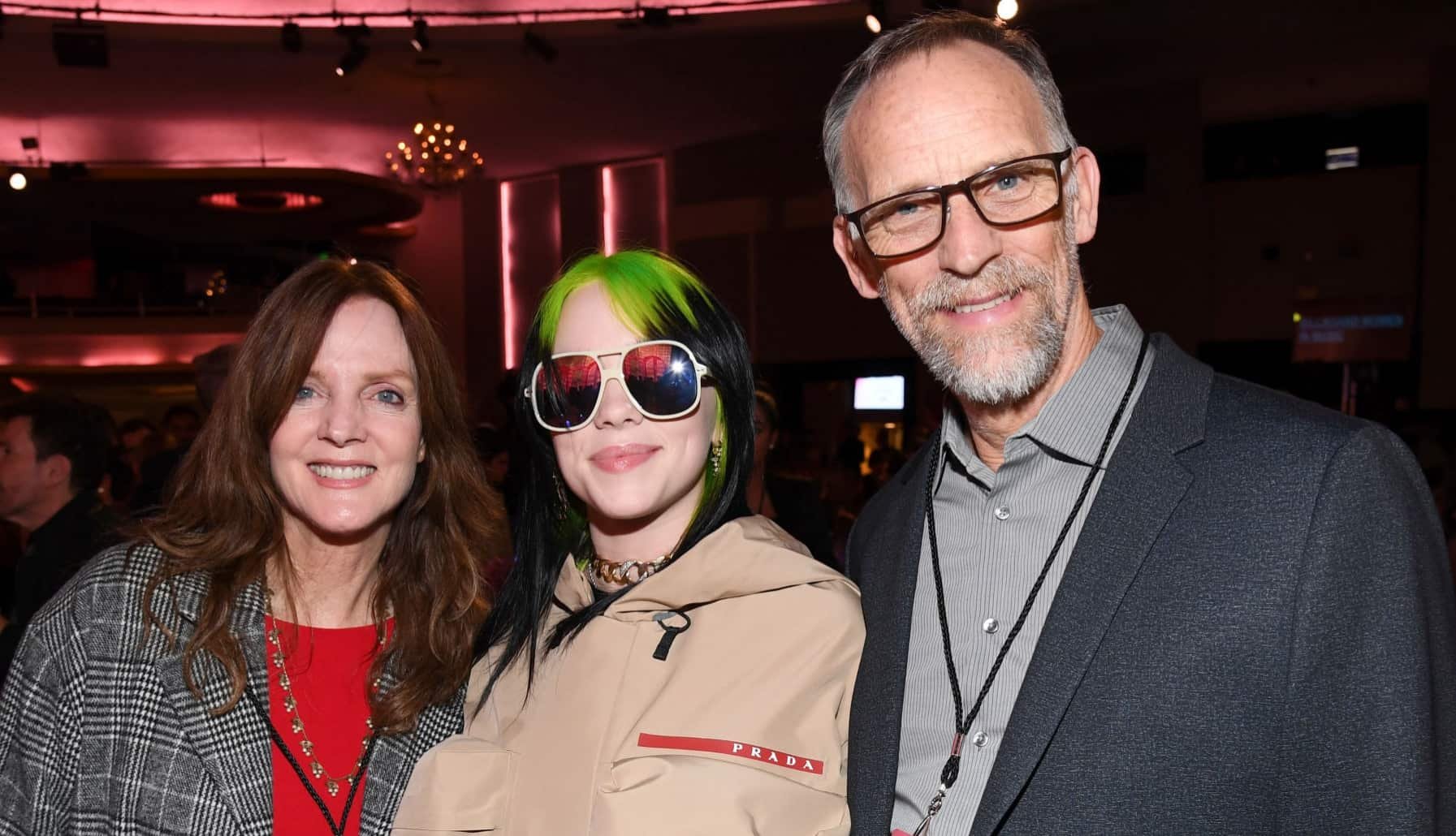 Maggie Baird, Billie Eilish, and Patrick O'Connell
