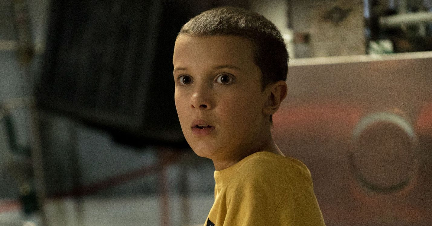 Millie Bobby Brown shaved head