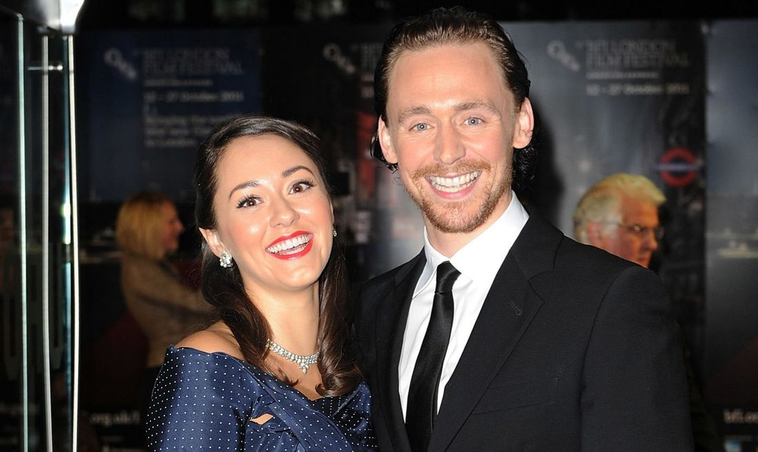 Susannah Fielding  and Tom Hiddleston