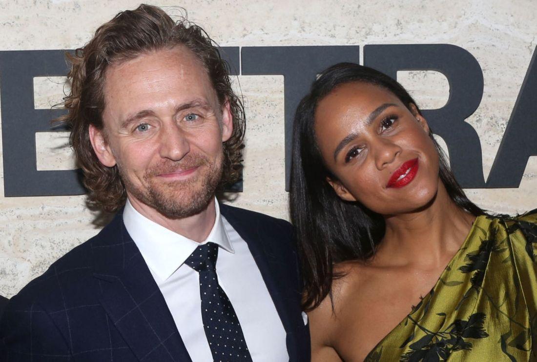 Tom Hiddleston and  Zawe Ashton