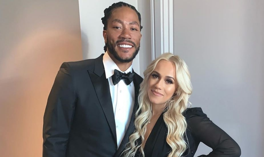 Derrick Rose and Alaina Anderson