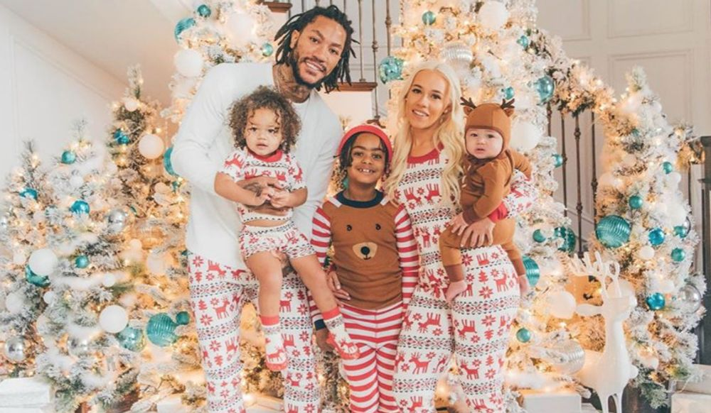 Alaina Anderson and Derrick Rose's kids