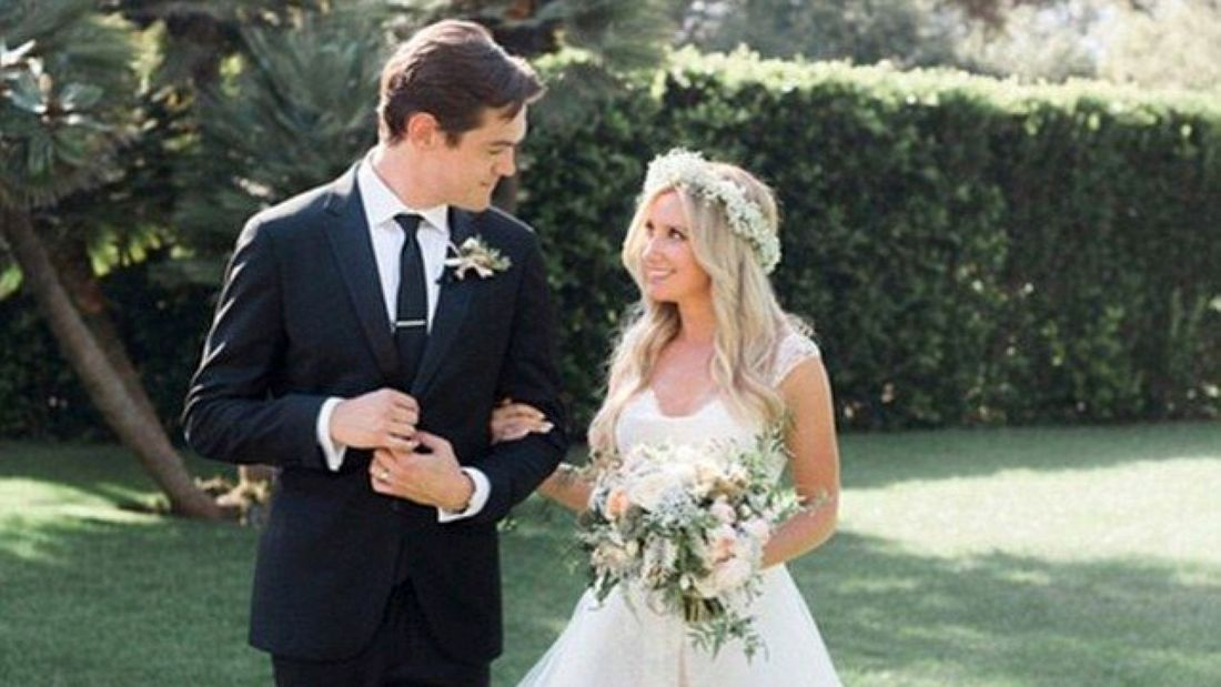 Ashley Tisdale and Christopher French's wedding