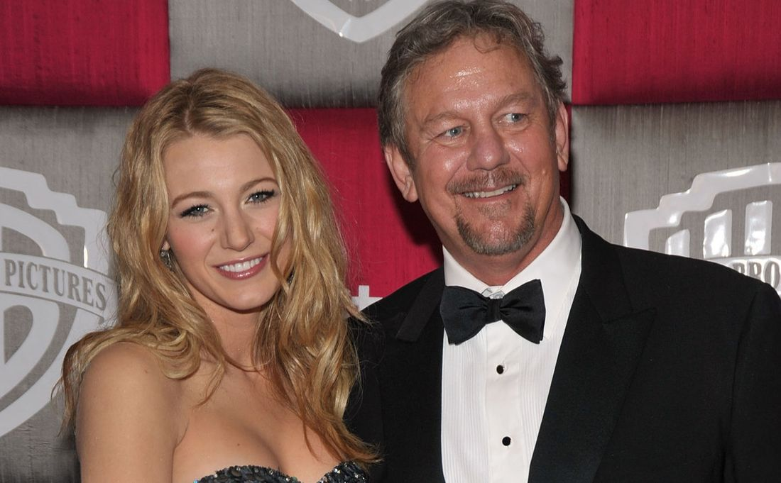 Blake Lively and Ernie Lively