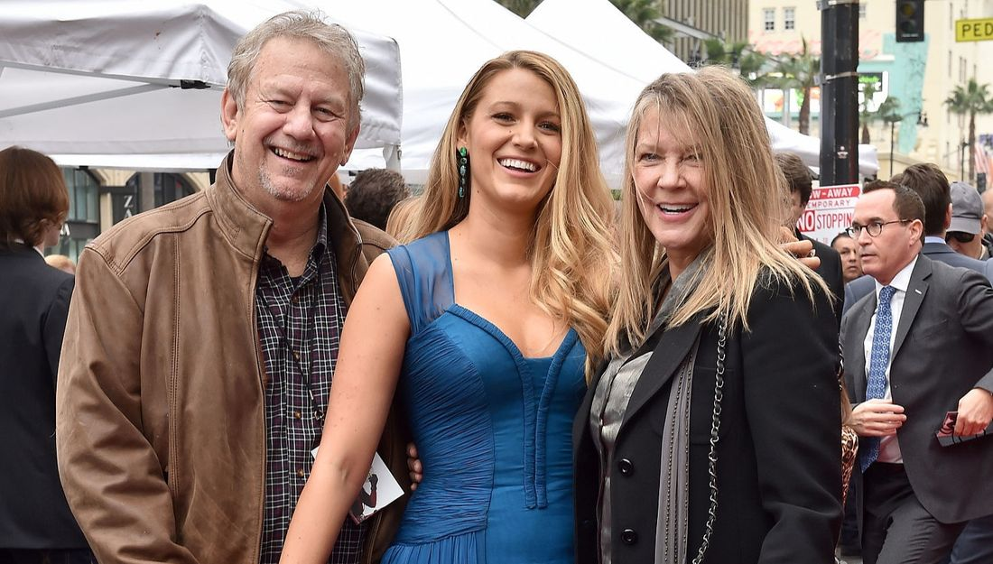 Ernie Lively, Blake Lively and Elaine Lively