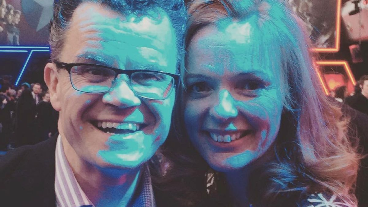 Dominic Holland and Nikki Holland