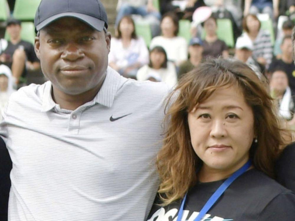 Leonard Francois and Tamaki Osaka