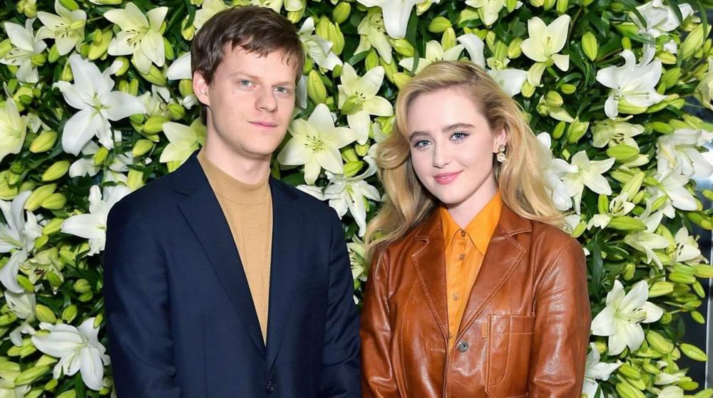 Lucas Hedges and Kathryn Newton