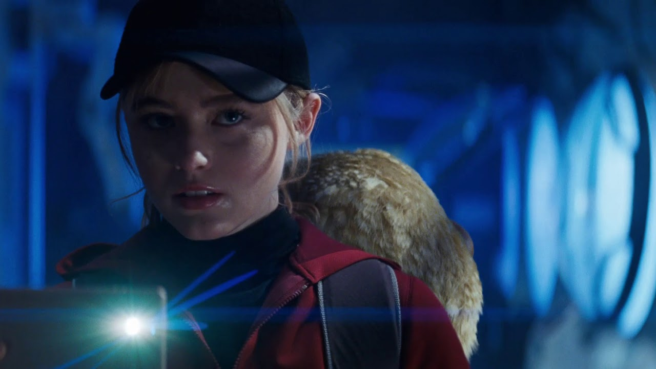 Lucy Stevens in Detective Pikachu