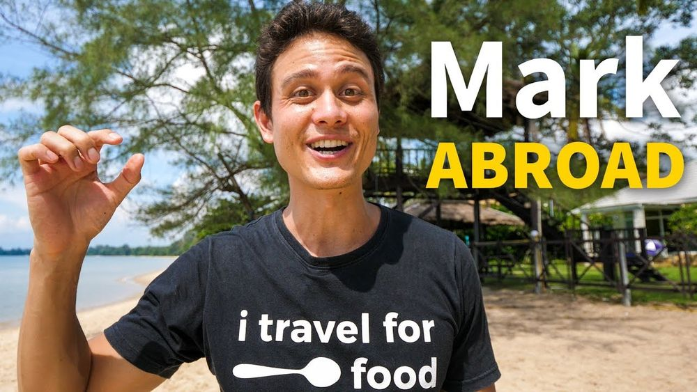 Mark Wiens abroad