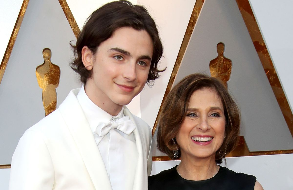 Timothee Chalamet and Nicole Flender