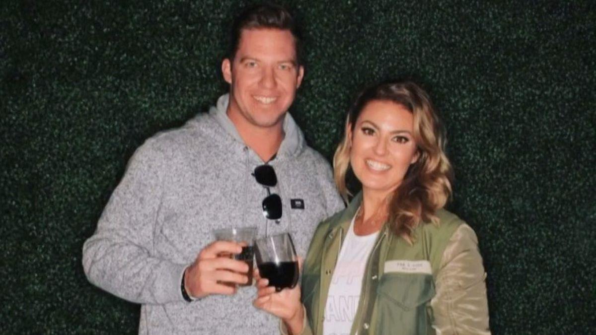 Amanda Balionis and her boyfriend