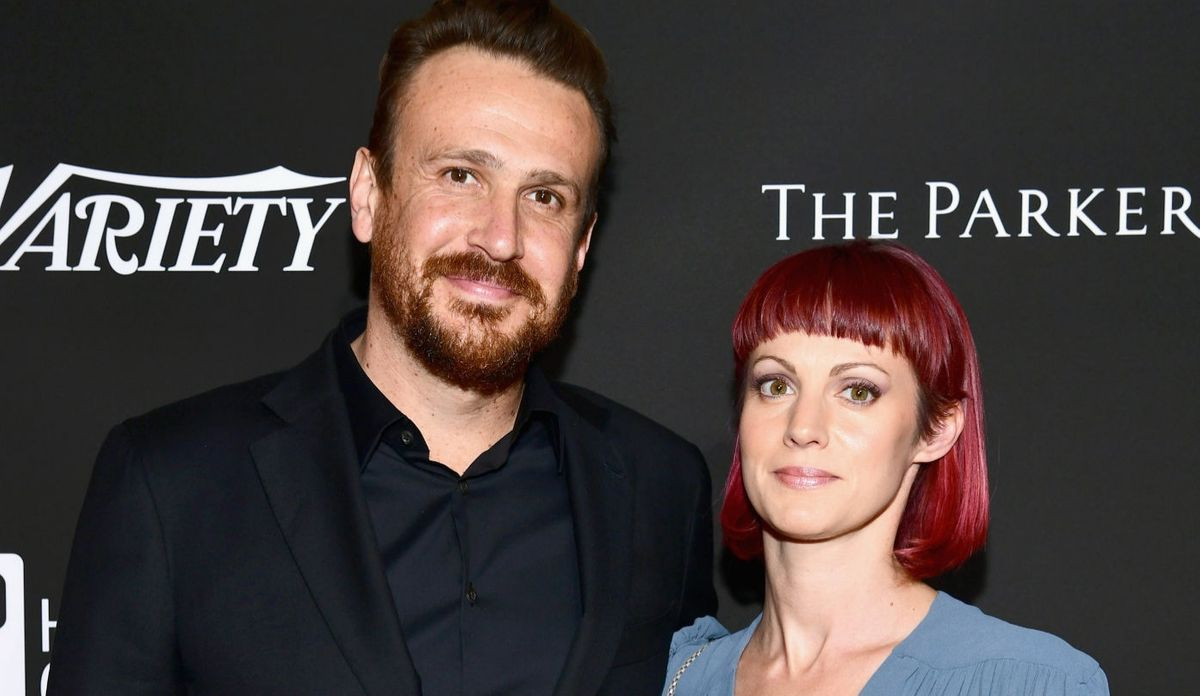 Jason Segel and Alexis Mixter