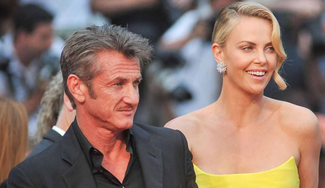 Sean Penn and Charlize Thero
