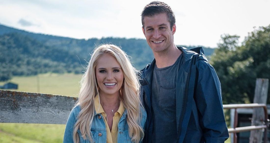 Tomi Lahren and Brandon Fricke