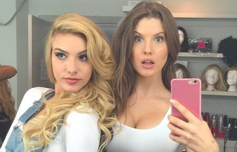 Lele Pons and Amanda Cerny