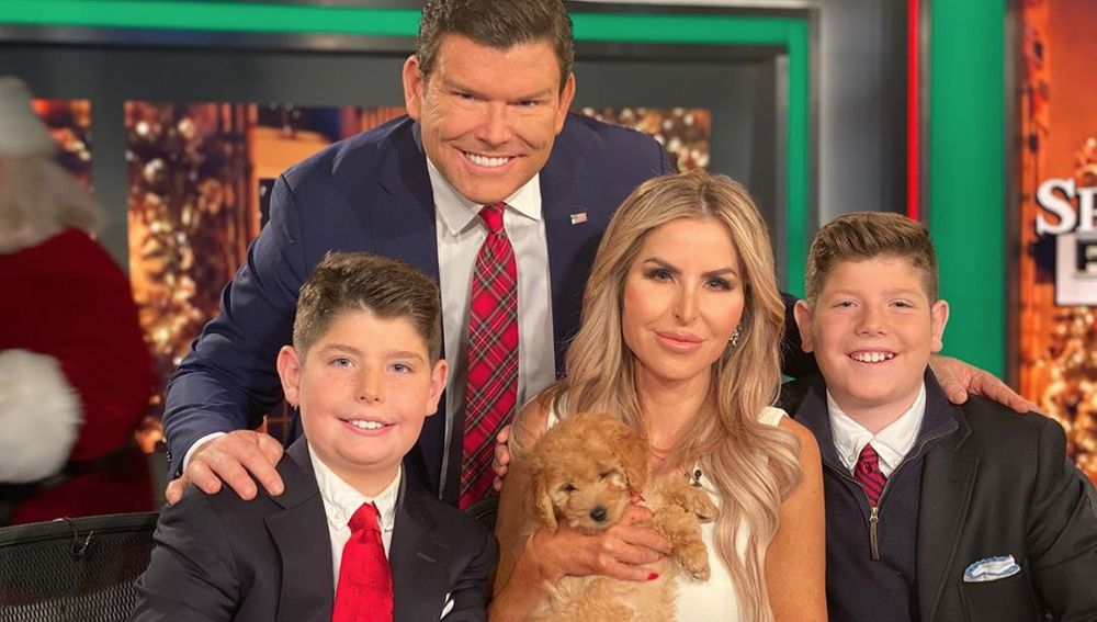 Bret Baier and his family