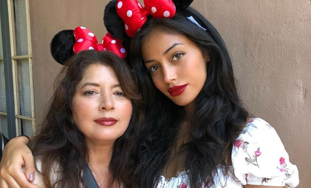 Cindy Kimberly and her mother
