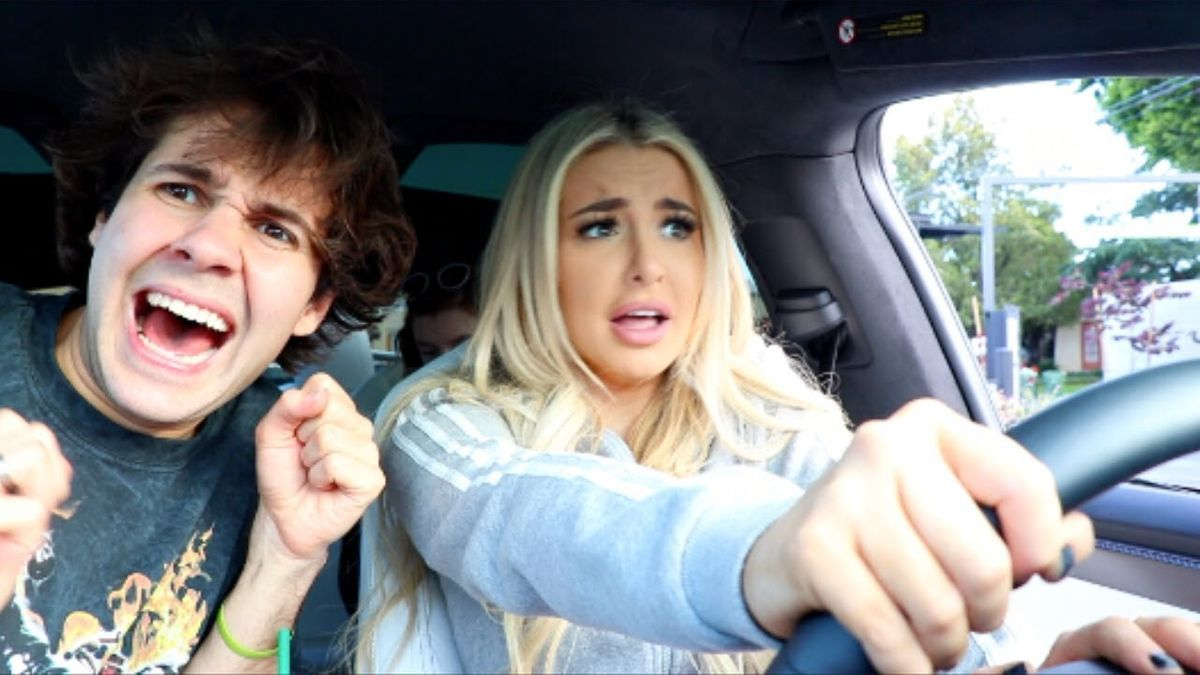 David Dobrik and Tana Mongeau