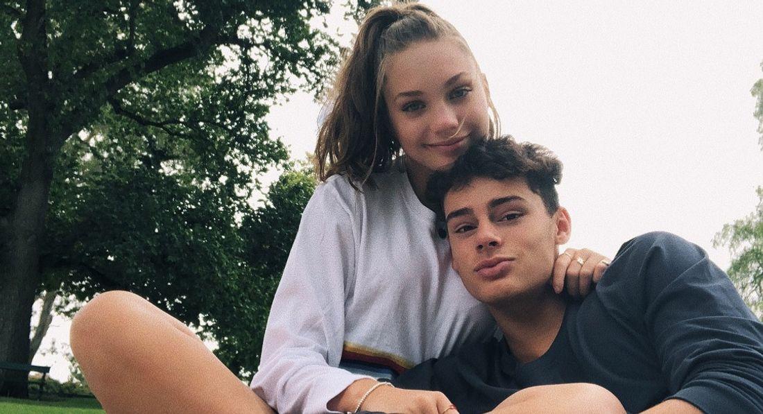 Maddie Ziegler and Jack Kelly