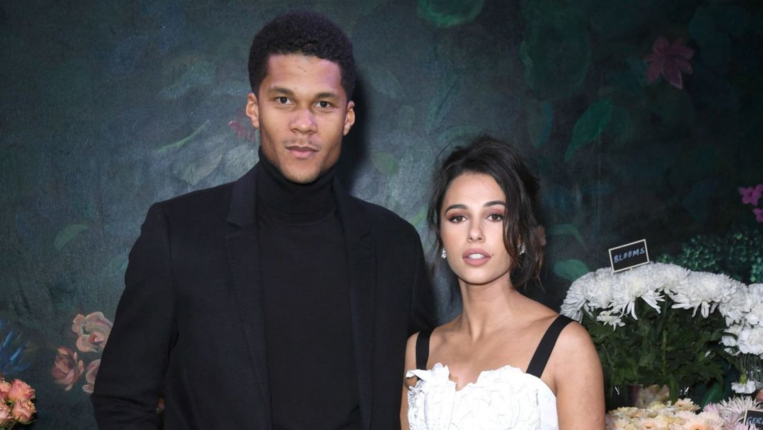 Jordan Spence and Naomi Scott