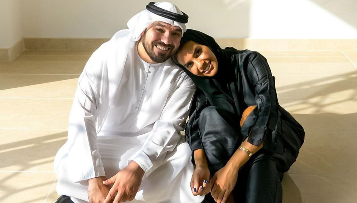 Khalid Al Ameri and Salama Mohamed