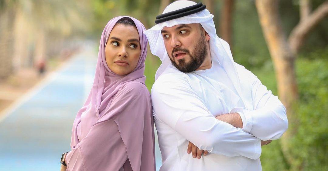 Khalid Al Ameri and Salama