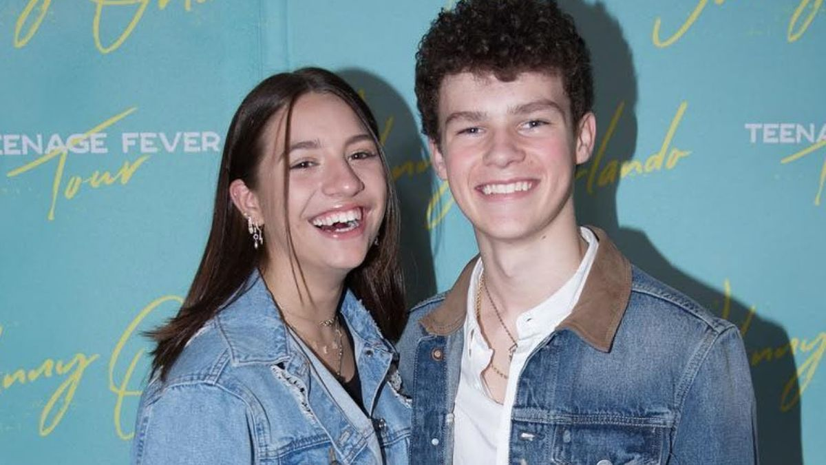 Mackenzie Ziegler and Hayden Summerall