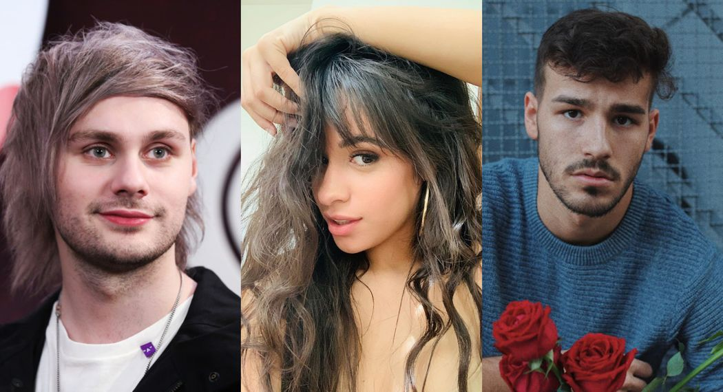 Michael Clifford, Camila Cabello and Jacob Whitesides