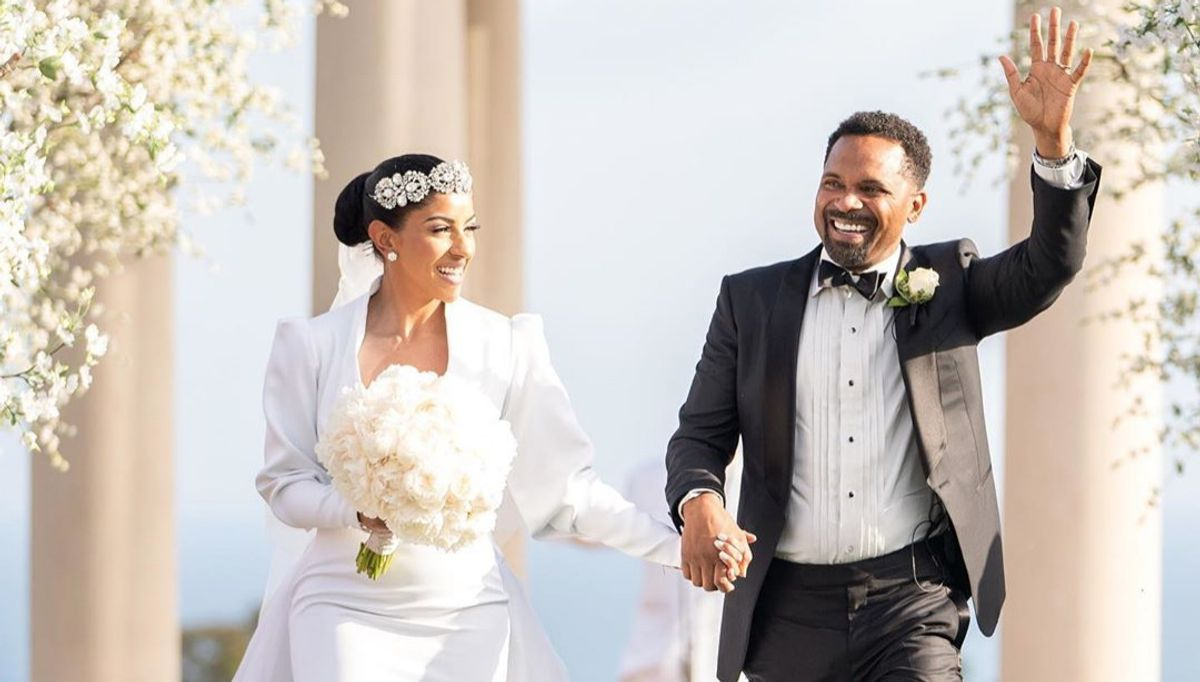 Mike Epps and Kyra Robinson