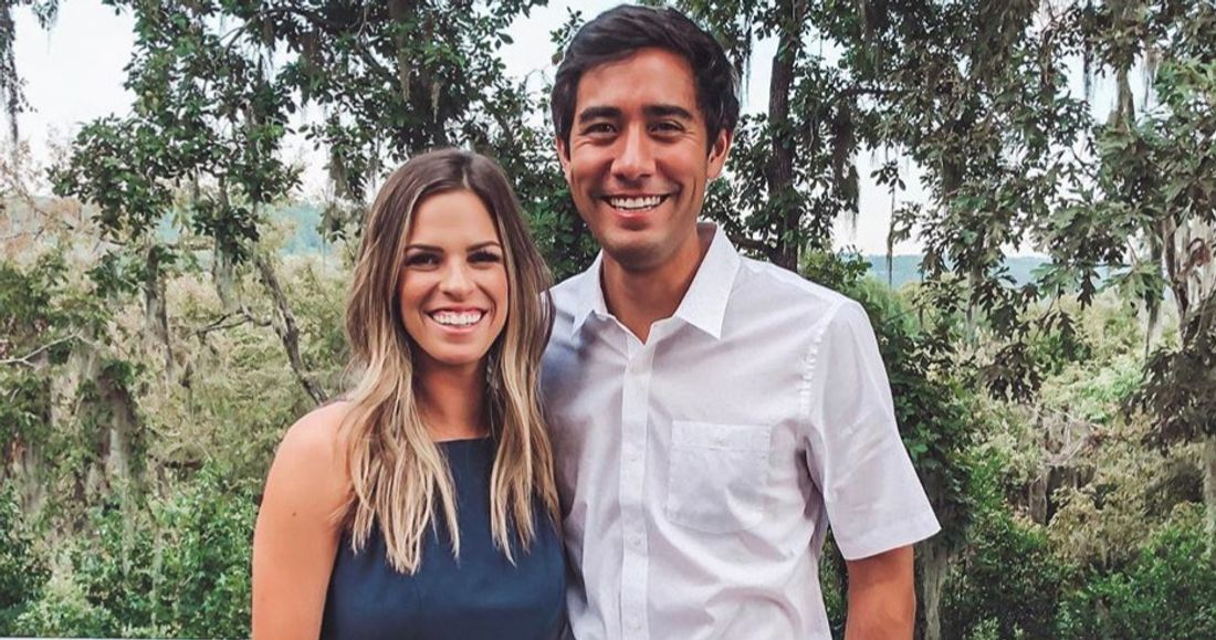 Rachel Holm and Zach King