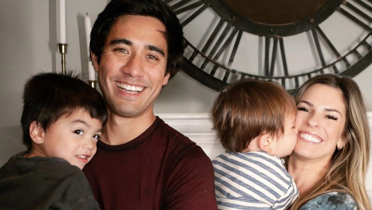 Zach King's wife and kids