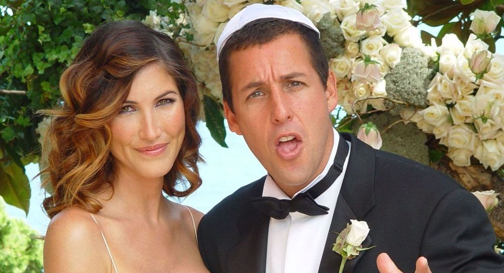 Adam Sandler and Jackie's wedding