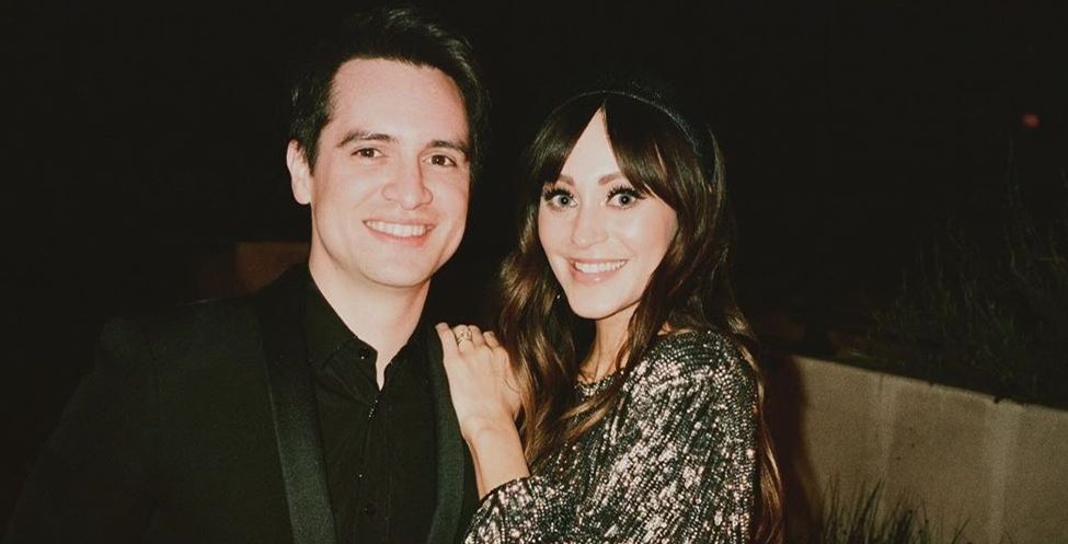 Brendon Urie and  Sarah Orzechowsk