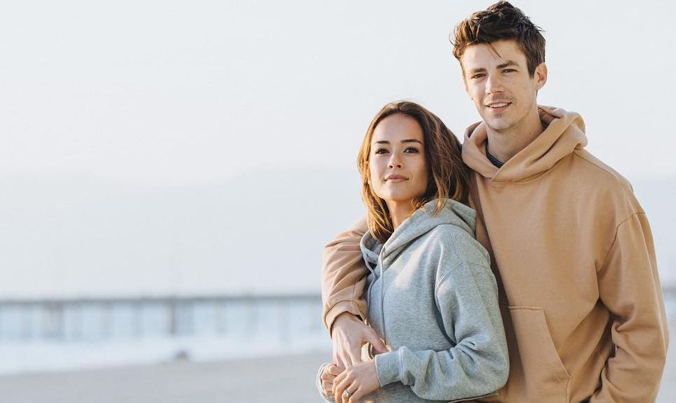 Andrea Thoma and Grant Gustin