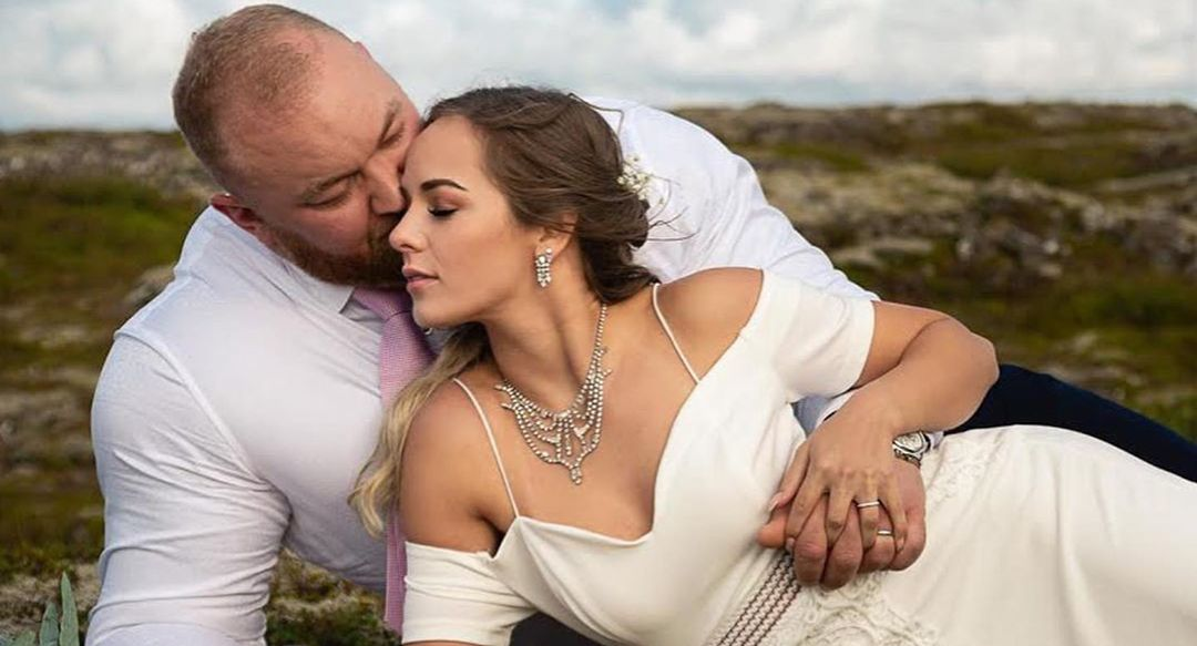 Hafthor Bjornsson and Kelsey Henson