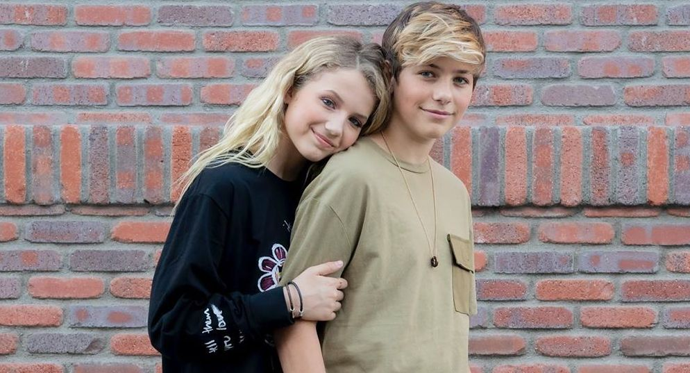 Piper Rockelle and Walker Bryant