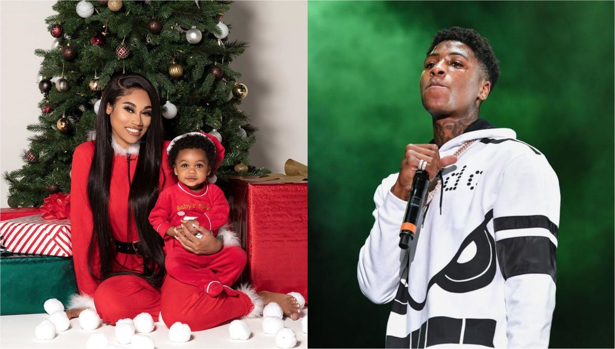 Jania Meshell and NBA YoungBoy