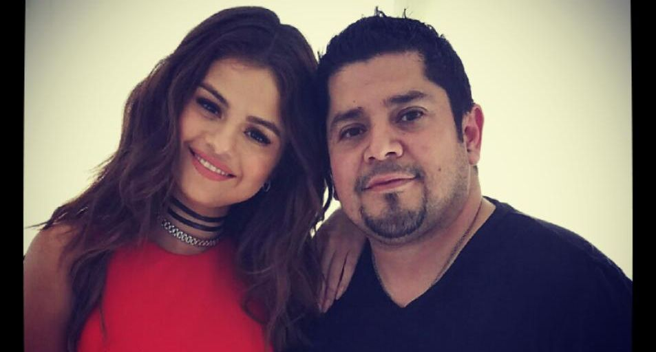 Rick Gomez and Selena Gomez