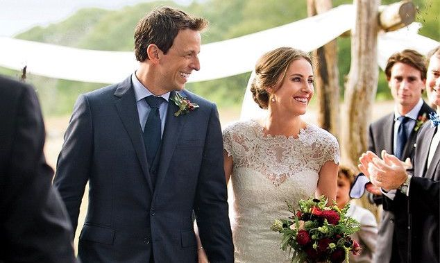 Seth Meyers and Alexi Ashe's wedding