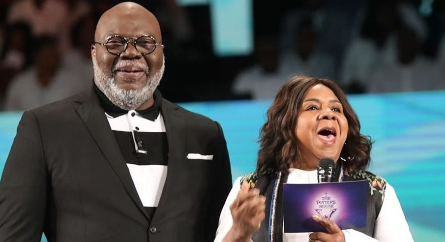 T. D. Jakes and Serita Jakes