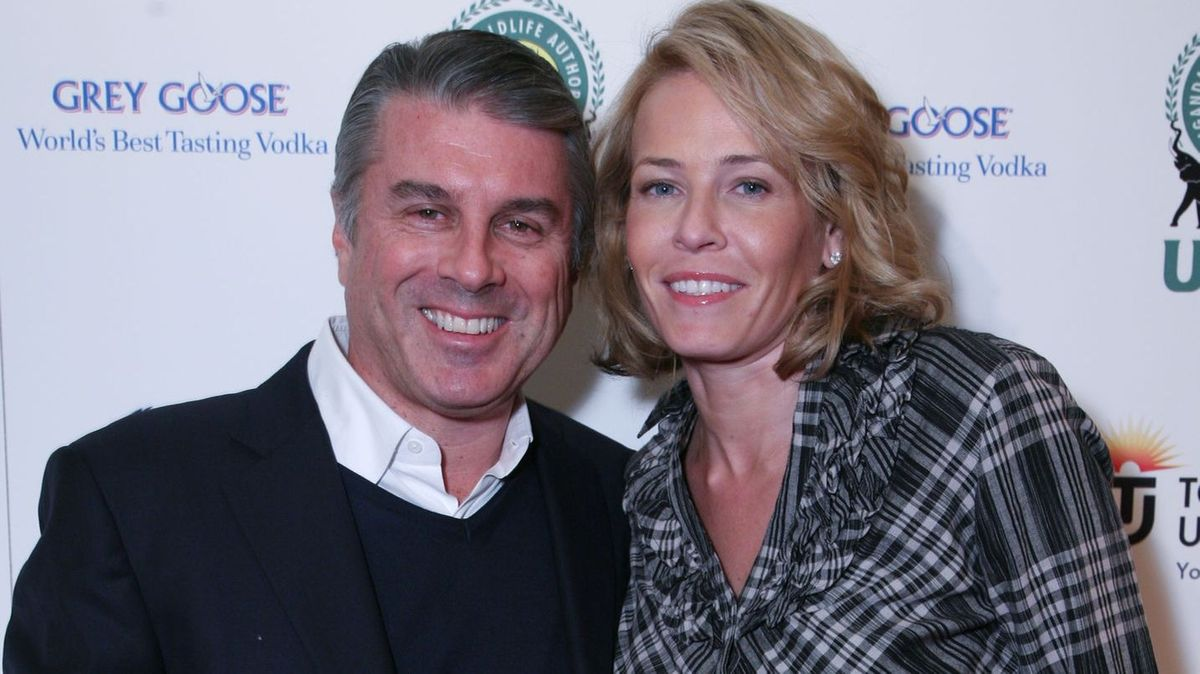 Ted Harbert and Chelsea Handler