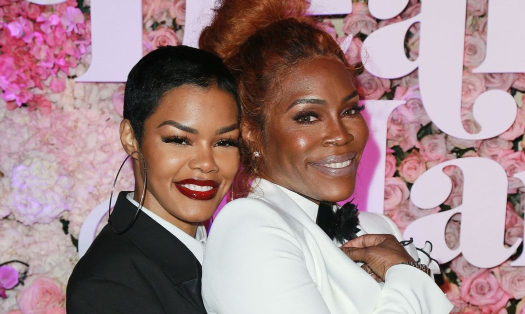 Teyana Taylor and Nikki Taylor
